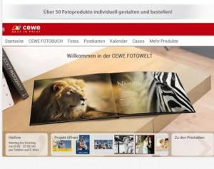 CEWE Fotoapp Fotobücher mobil gestalten